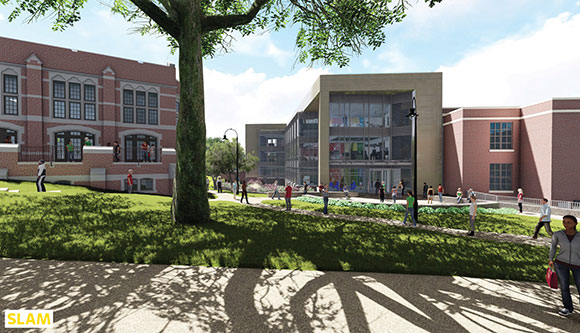Science Complex rendering