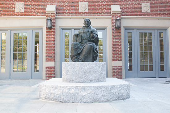 St. Thomas Statue: August 21, 2013