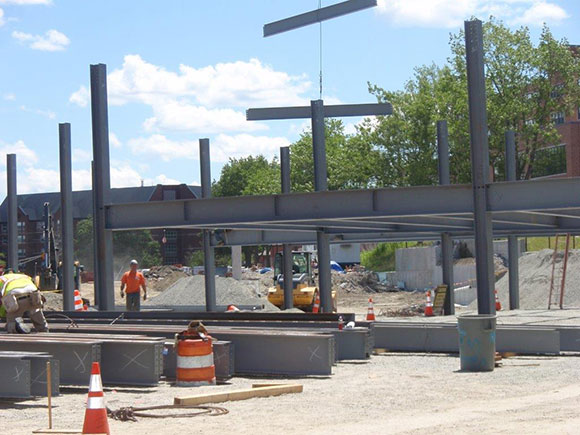 Anderson Stadium Steel Turgeon Pic