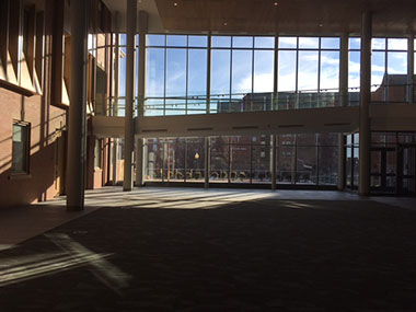 Ryan School of business Atrium 1