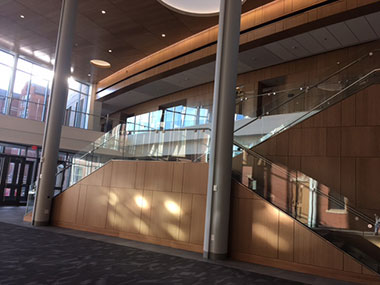 Ryan School of business atrium 2