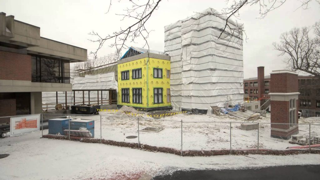 Image for Ruane Center for the Humanities Timelapse of Construction