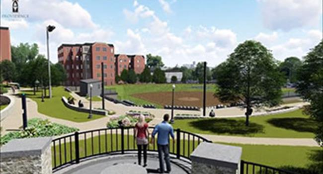 Image for Providence College Huxley Avenue Transformation
