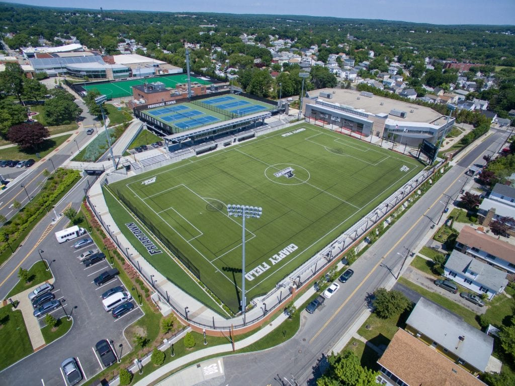 Thumbnail for Athletics Fields Aerial June 2018 Chapey Field at Anderson Stadium