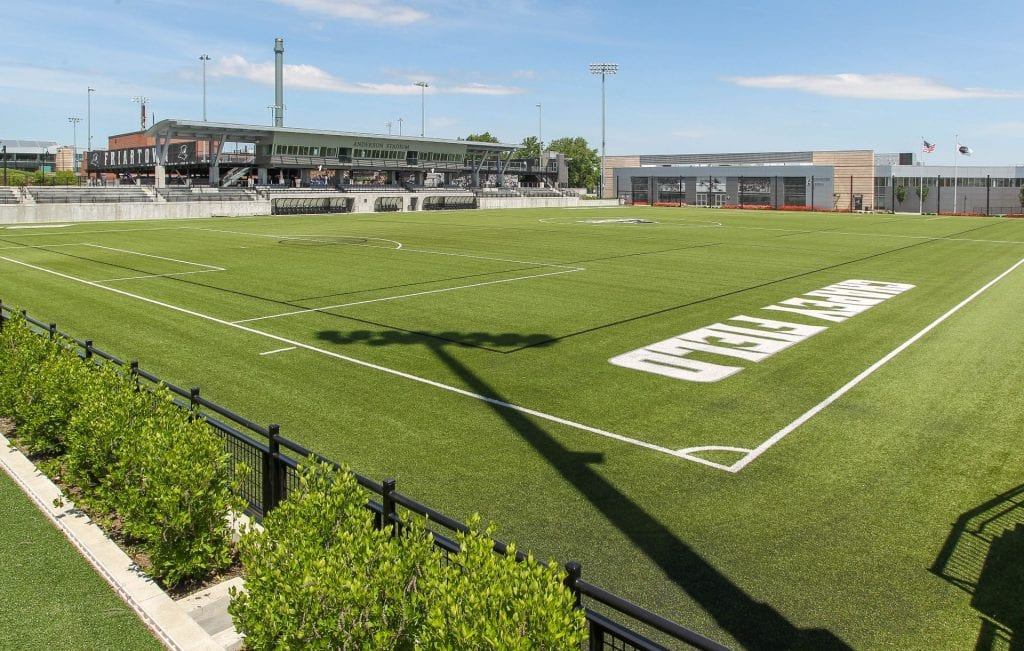 Thumbnail for Athletics Fields Chapey Field at Anderson Stadium