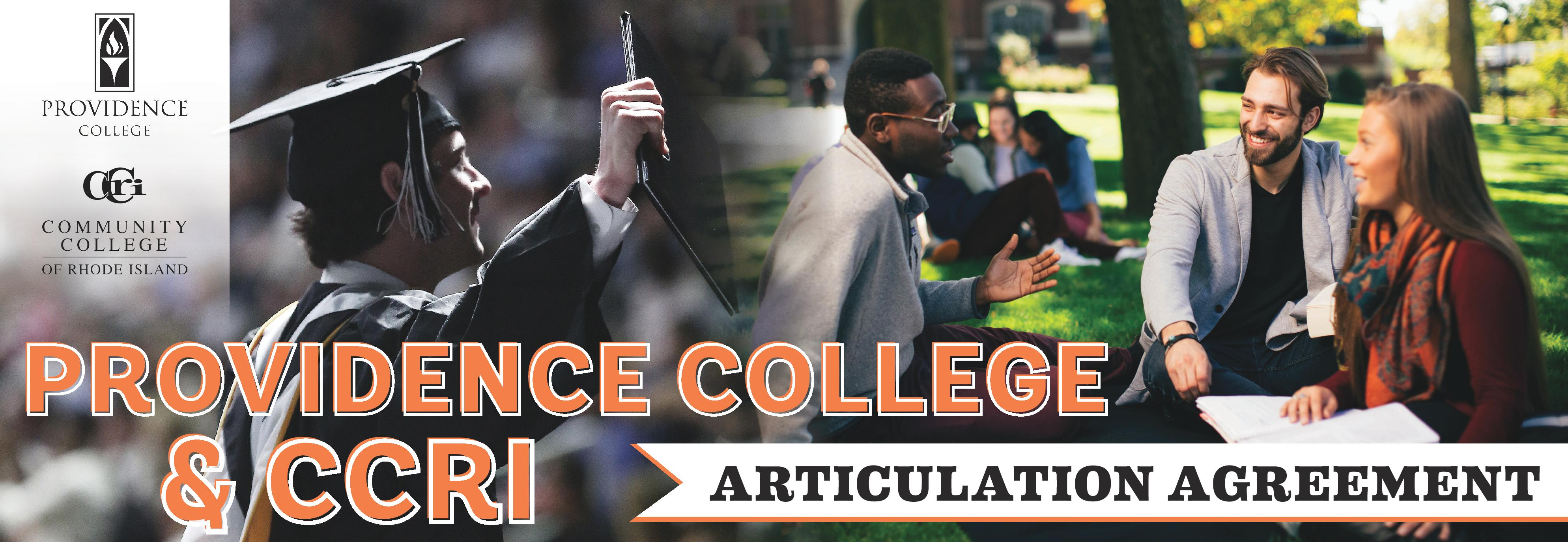 Providence College & CCRI Articulation Agreement