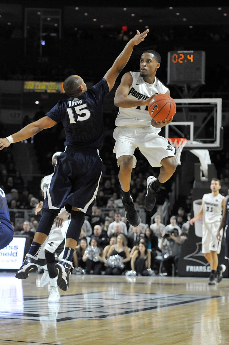 Bryce Cotton '14 during a game against Xavier.