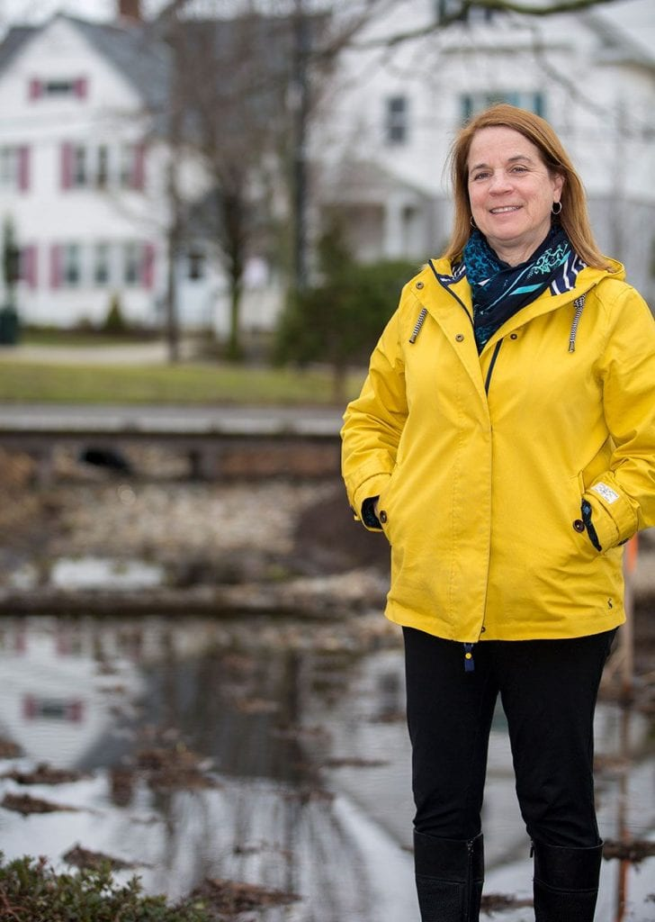 Gale Gennaro has led PC's stormwater management planning since 2010.
