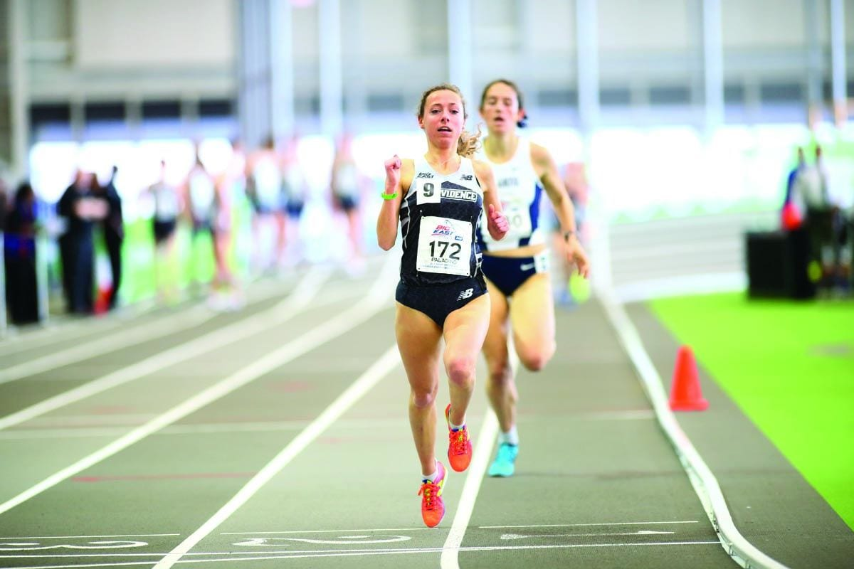 MILLIE PALADINO '18: Honorable Mention All-America, 1,500-meter run, outdoor track