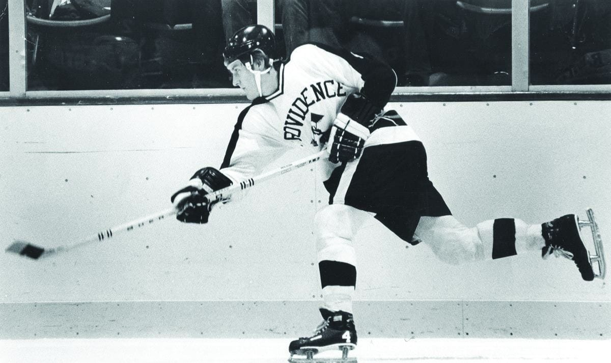Ron Wilson '77 is the fourth Friar to be selected for induction into the U.S. Hockey Hall of Fame.