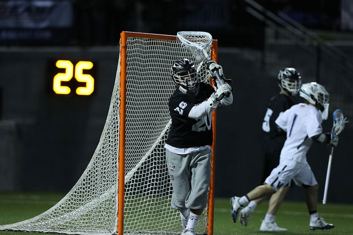 TATE BOYCE '19: Third Team All-America, goaltender, lacrosse