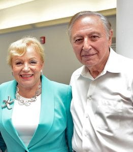 Mary Jane and Robert C. Gallo, M.D. '59 & '74Hon. (Photo courtesy of IHV)