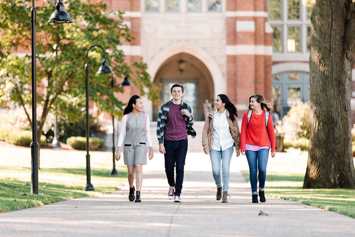 The transformation of the campus and increasing national recognition are two factors cited in a record number of applications to PC for the fourth consecutive year.