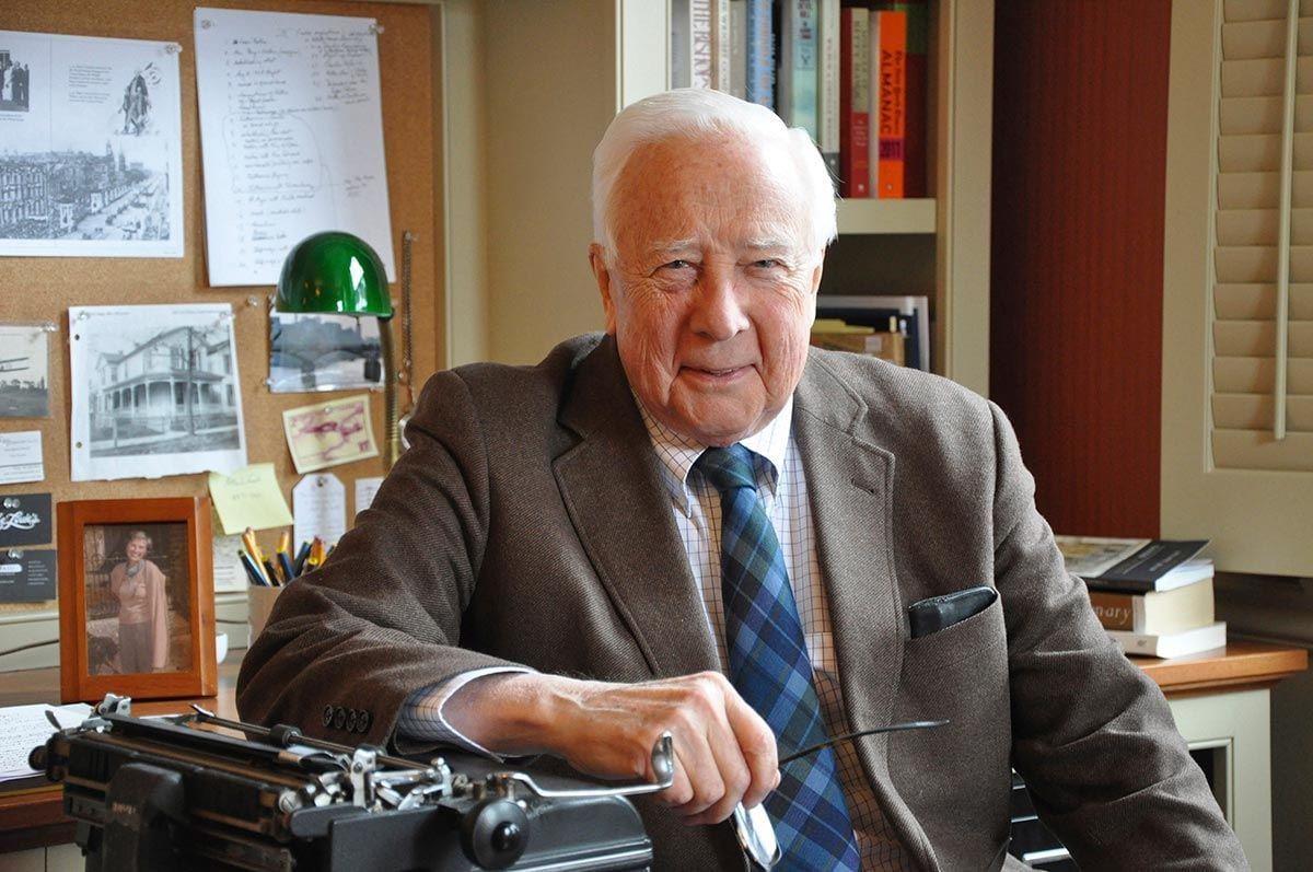 David McCullough, winner of two Pulitzer Prizes and the Presidential Medal of Freedom, will receive one of six honorary degrees to be awarded by Providence College.