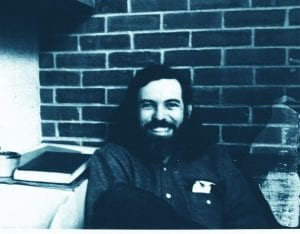 Dr. Robert H. Trudeau, professor emeritus of political science, as he looked in 1973.