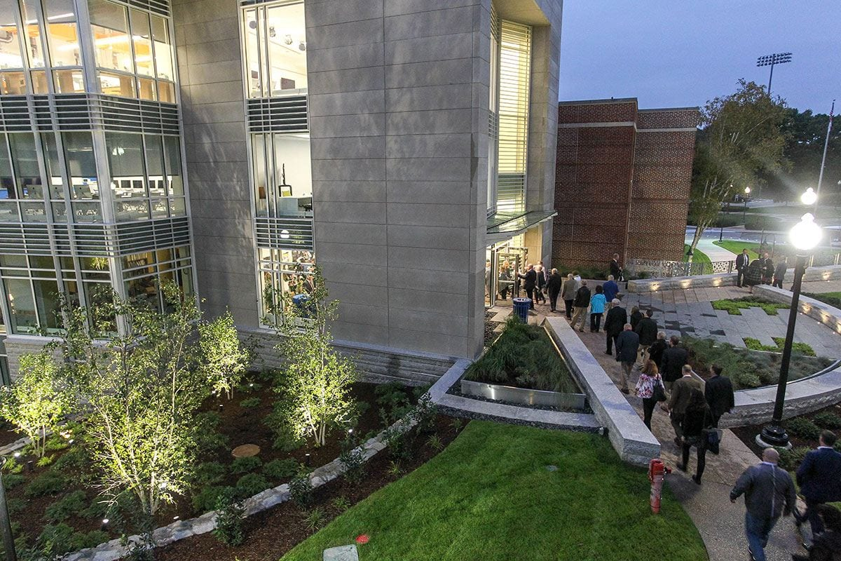 The new addition to the Science Complex was formally opened with a ceremony on Sept. 28. Self-guided tours and a reception were offered.