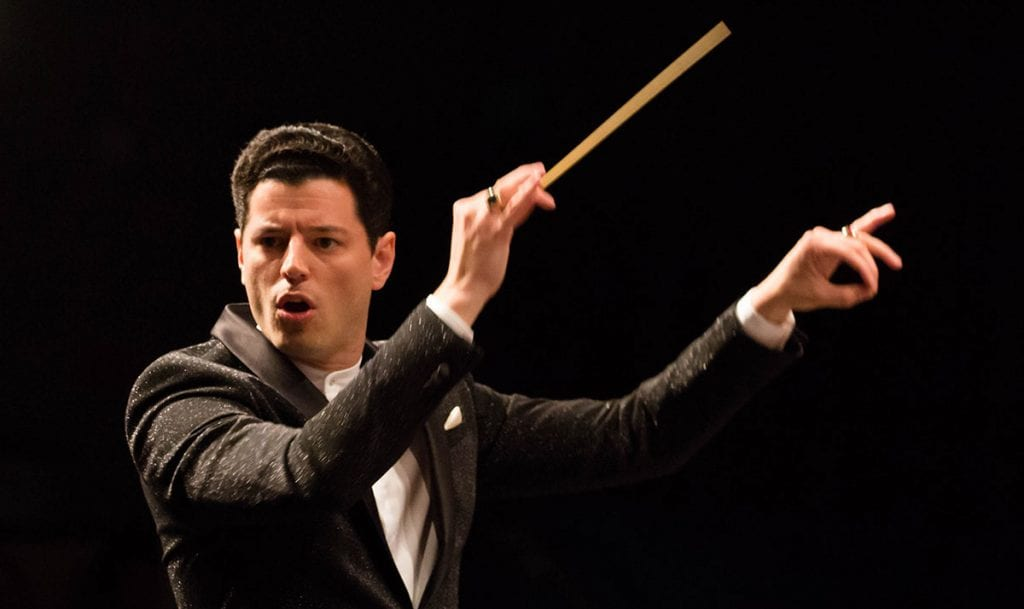 Dr. Troy Quinn '05 became music director and conductor of the Venice Symphony in Florida in 2018.
