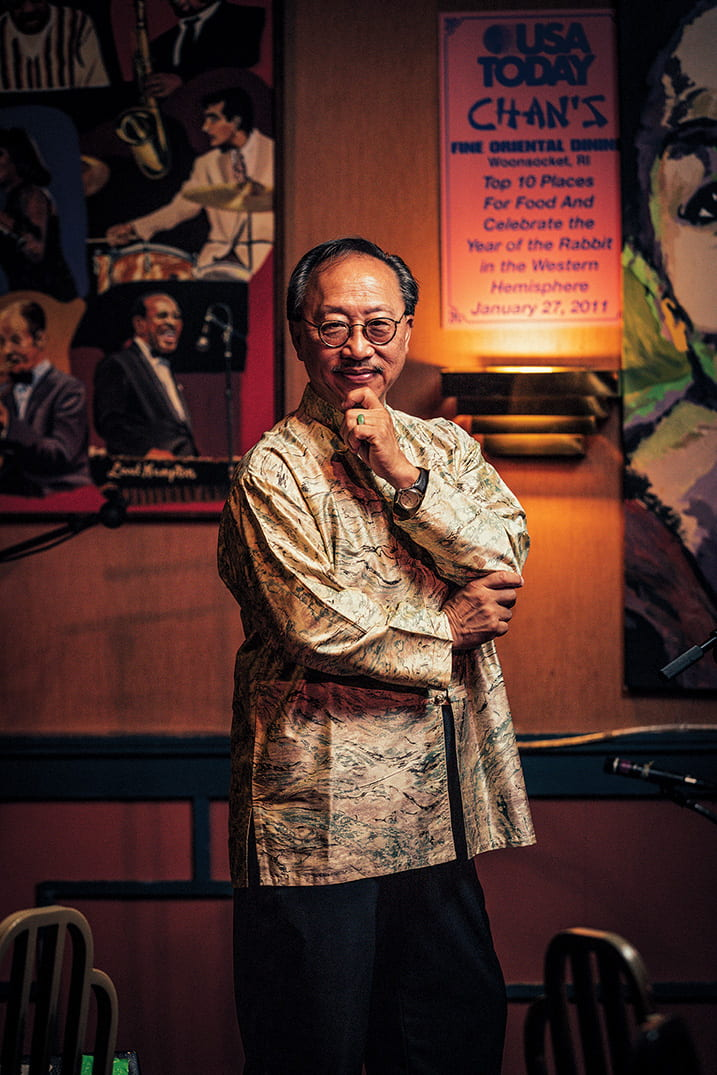 John Chan '74 has welcomed musical artists to his Woonsocket, R.I., restaurant for 40 years.