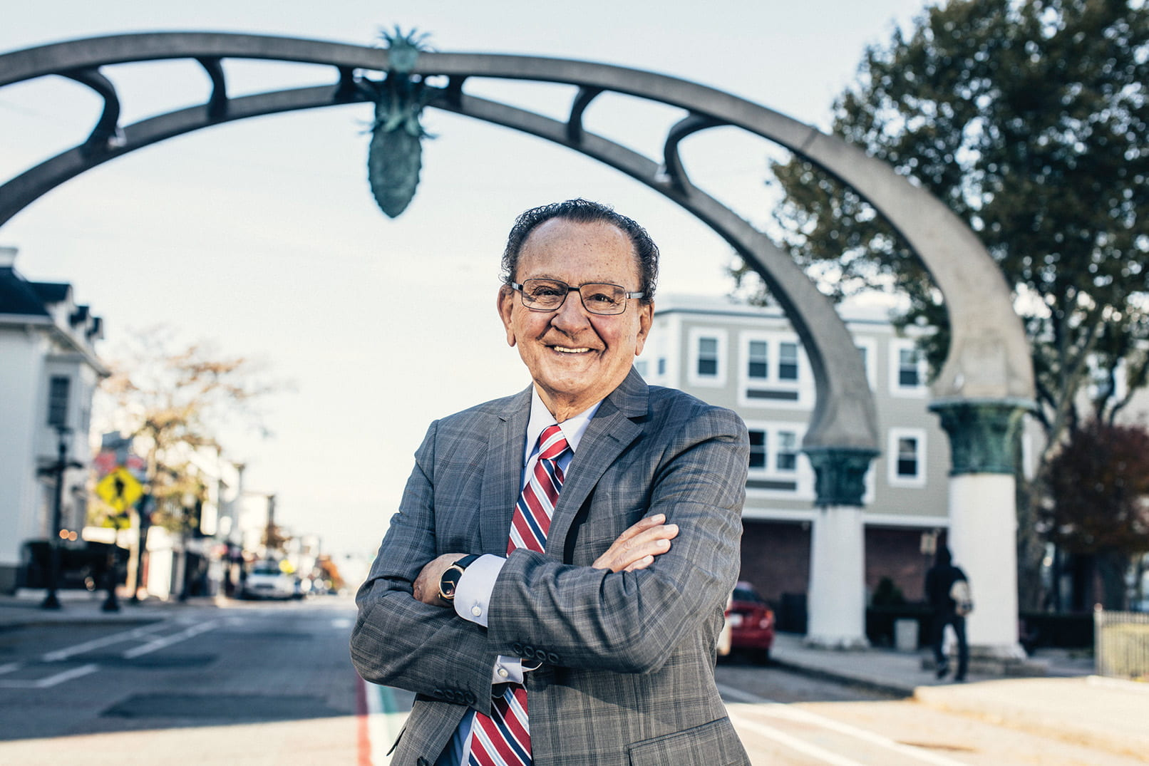 Providence Municipal Court Judge Frank Caprio '58 & '08Hon. moves millions of fans with compassionate jurisprudence and sharp wit on televison's Caught in Providence.