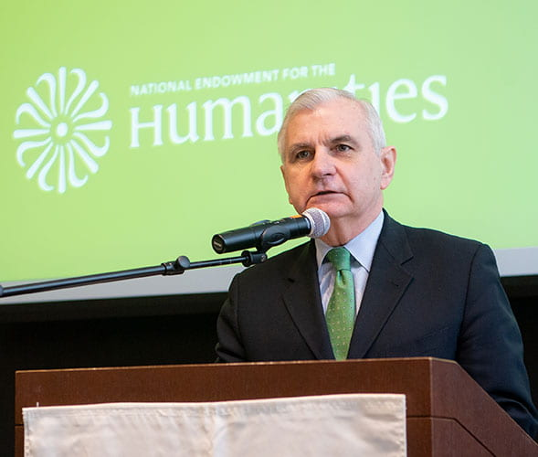 U.S. Sen. Jack Reed, D-R.I. addresses workshop participants.
