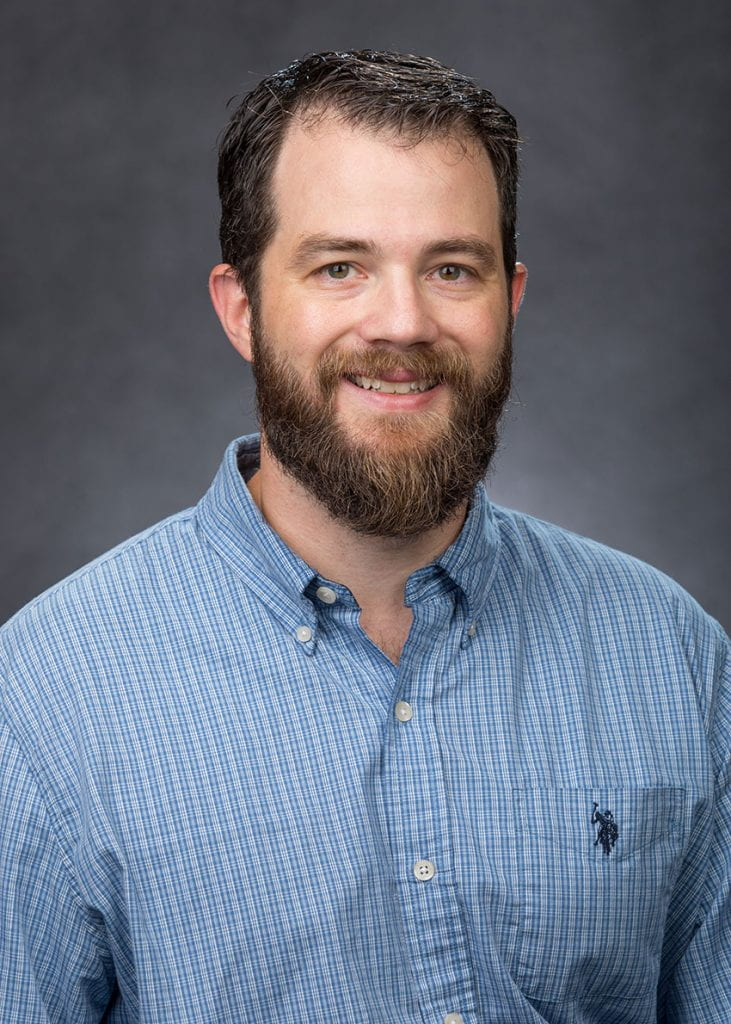 Dr. Andrew Geist, assistant professor of theology