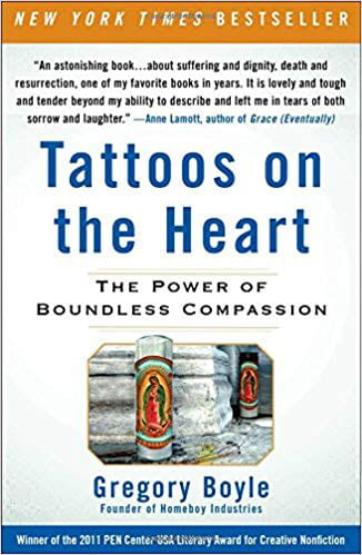 Tattoos on the Heart is the Common Reading Program selection for the 2019-20 academic year.