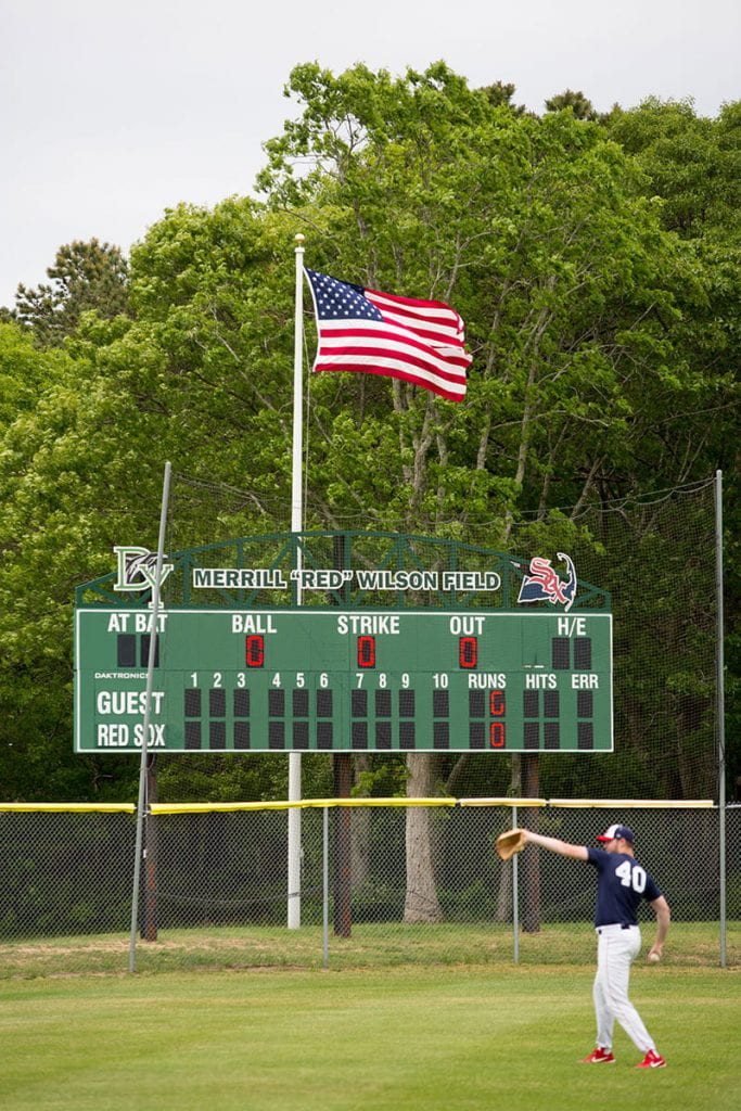 "On a June evening, Rev. Humbert Kilanowski, O.P. went to Merrill ""Red"" Wilson Field in Yarmouth, Mass., to watch the Yarmouth-Dennis Red Sox play the Orleans Firebirds. The Red Sox won, 8-2."