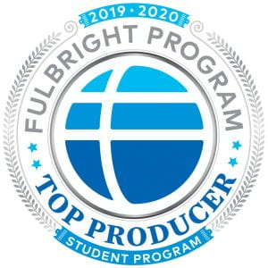 Providence College was named a top producer of Fulbright students for 2019-20