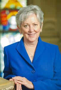 Sister Jane Gerety, R.S.M., honorary degree recipient, Commencement 2020