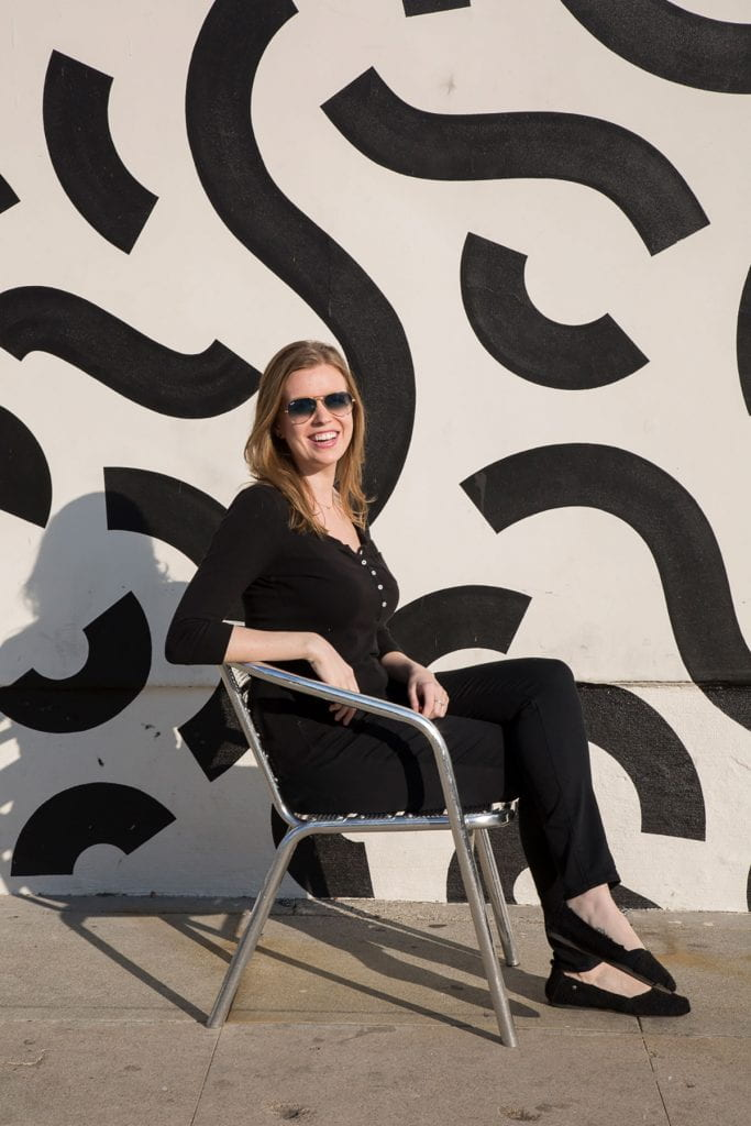 Tara McLaughlin '13, creative advertising manager at Focus Features, methodically constructed her path to a life and career in Hollywood. (Photo: Diana Koenigsberg)