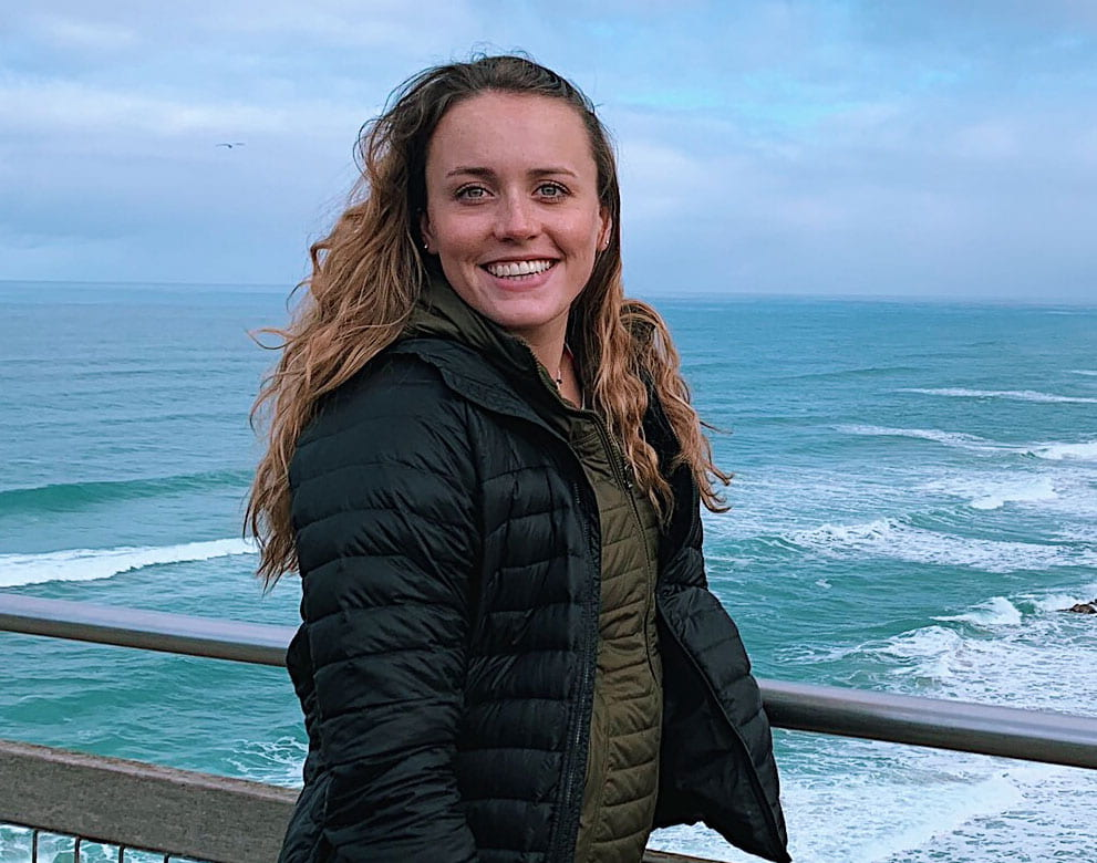 Stephanie Gilet '21 during her semester abroad in Australia