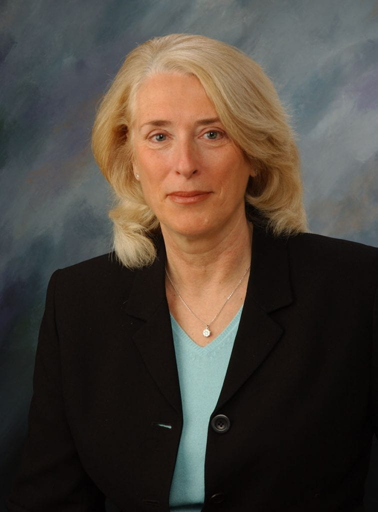 Ann Manchester-Molak '75, named executive vice president under Rev. Kenneth G. Sicard, O.P. '78 & '82G