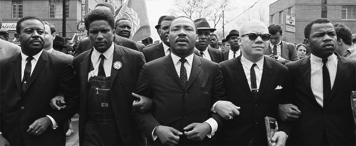 Dr. Martin Luther King Jr. Marching