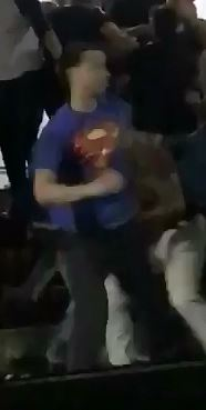 suspect in superman shirt