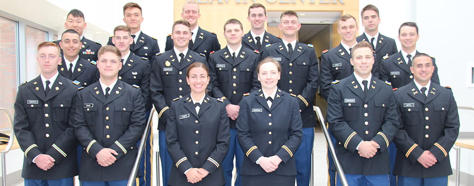 2019 ROTC Patriot Battalion group, military science, ROTC, Patriot Battalion