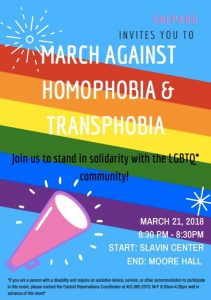March Against Homophobia and Transphobia
