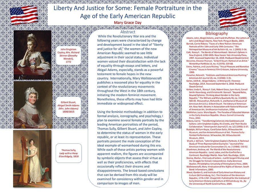 Mary Grace Day Art History Thesis poster