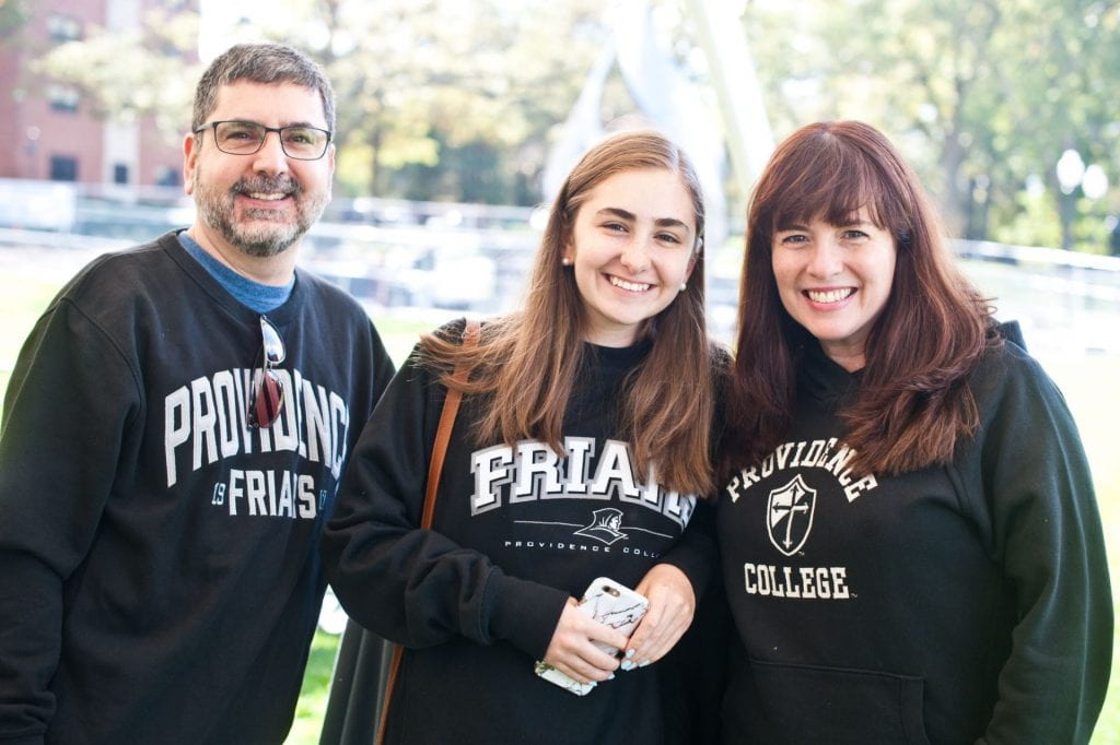 Family in Friars Gear