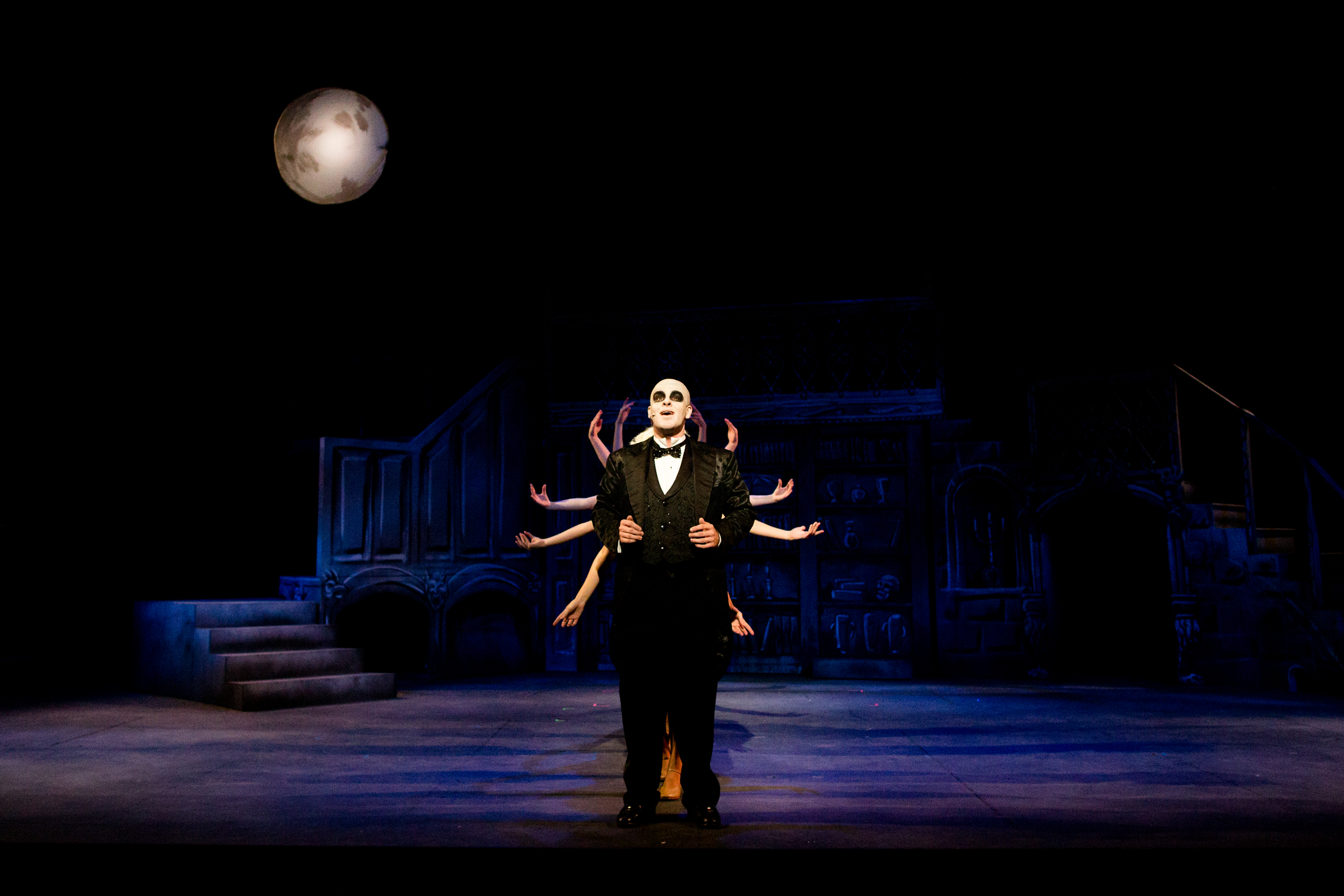 The Addams Family Musical (Fall 2016) Uncle Fester sings of his love life with the company of ghouls from his Addams home.
