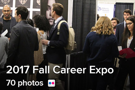 Photos of the 2017 Fall Career Expo