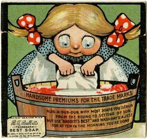Advertising Trade Card for B. T. Babbitt, Best Soap