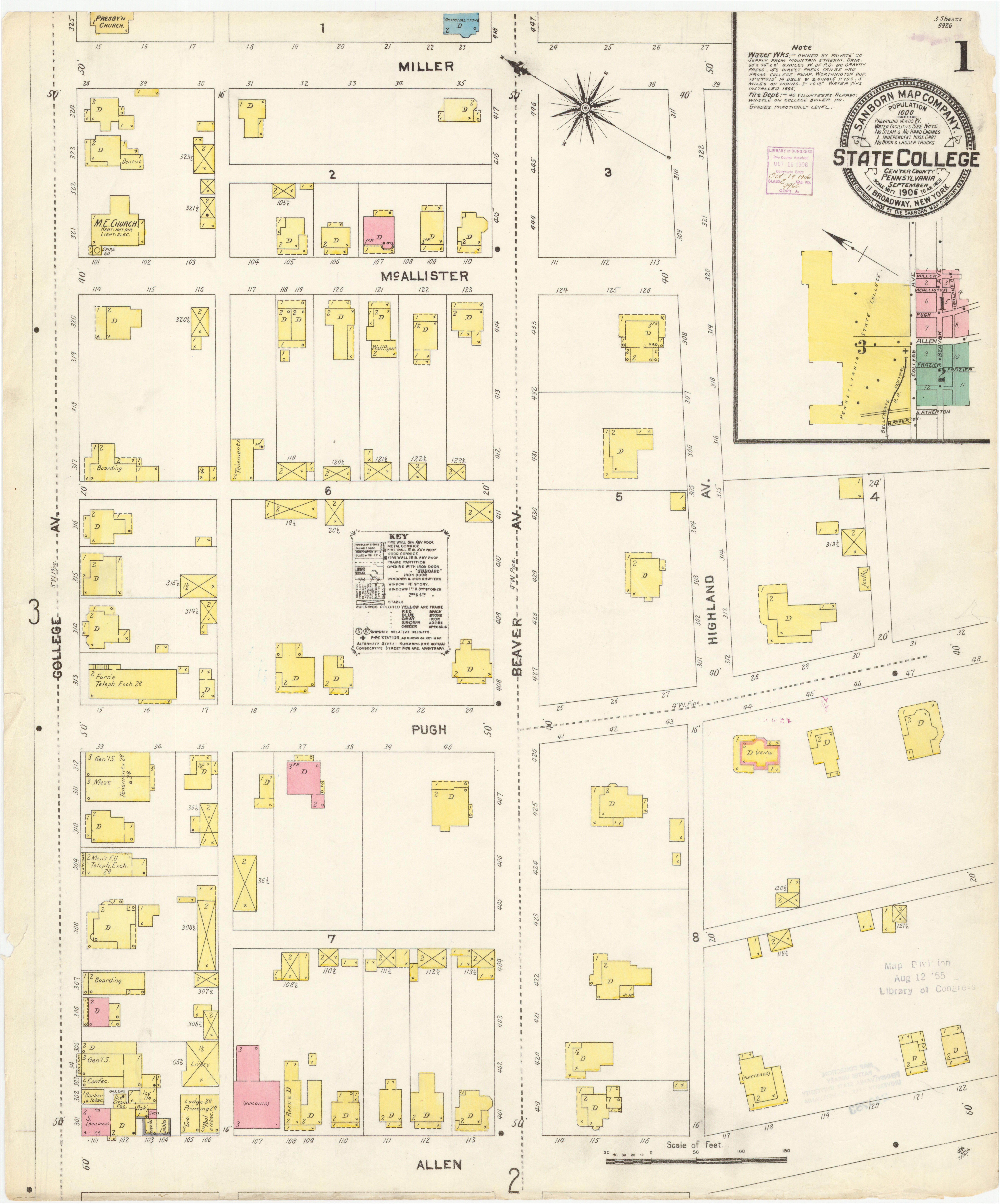 Sanborn Fire Map.Sanborn Fire Insurance Maps Much More Than Meets The Eye