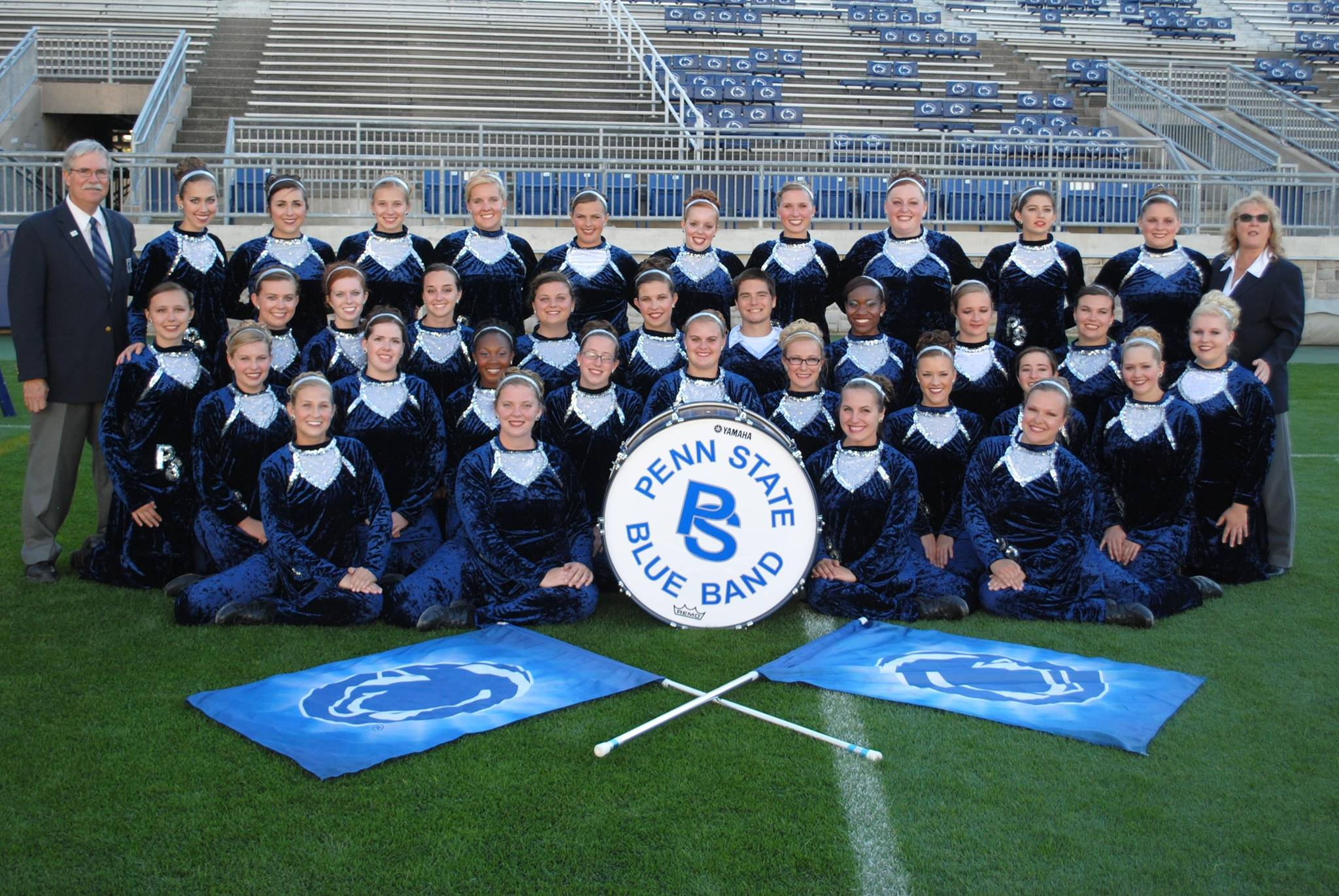 Hscg Bbs Council Rock High School North Color Guard Of 15 S Verses Penn State Blue