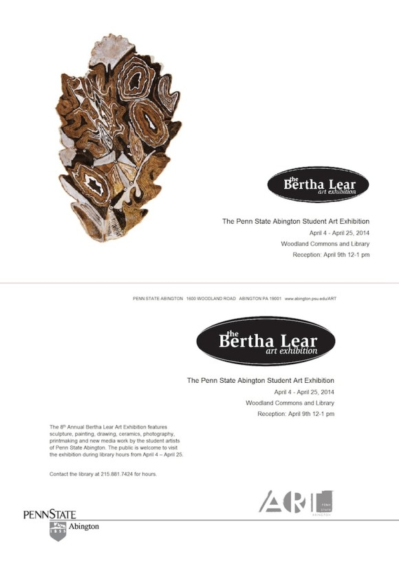 2014 Bertha Lear Annual Student Exhibition
