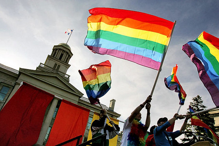 Laws against gay marriages 1