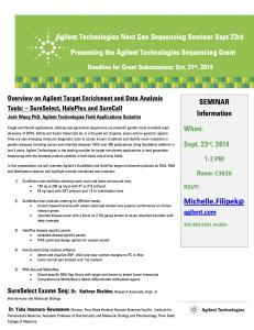 Agilent PSU NGS seminar Sept 23 2014FF