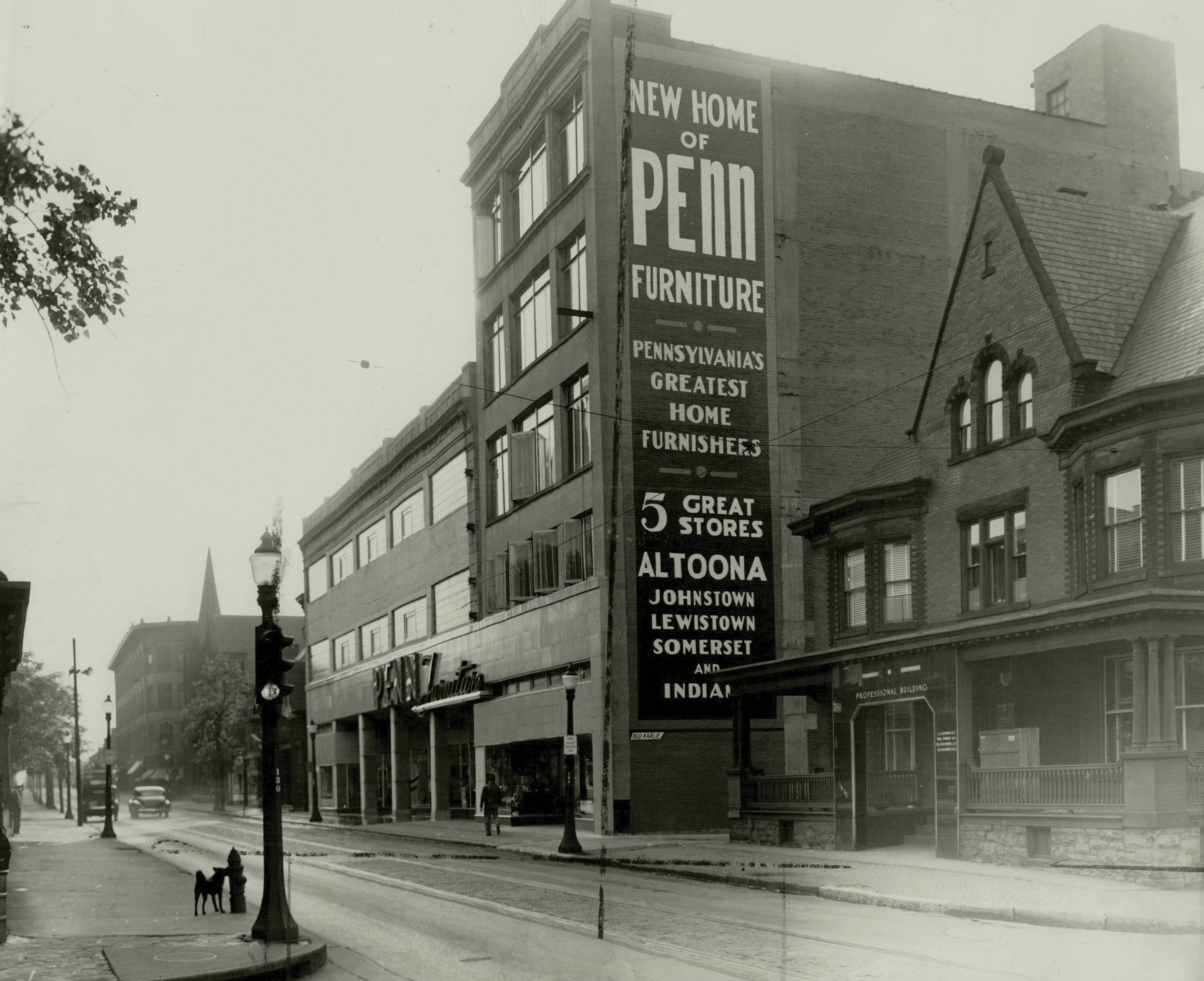 1946   Penn Furniture Building