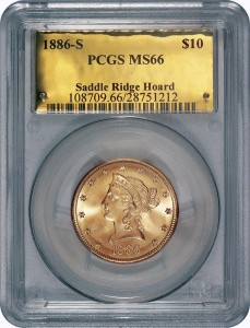 Graded Saddle Ridge Coin http://news.yahoo.com/calif-couple-strike-10-million-gold-coin-bonanza-183614916.html