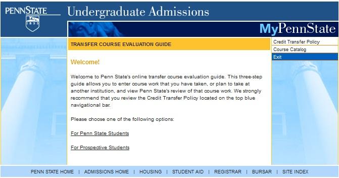 We admit penn state undergraduate admissions the latest