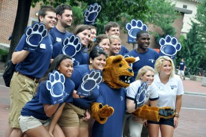 Our tour guides are ready for another great semester of campus visits!